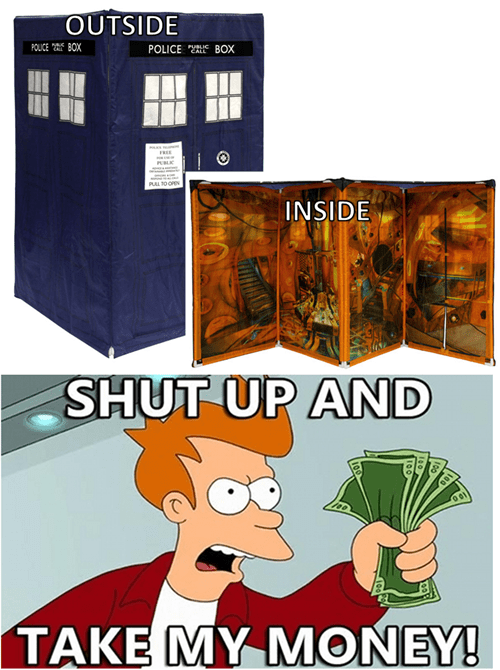 Doctor Who Tardis Tent