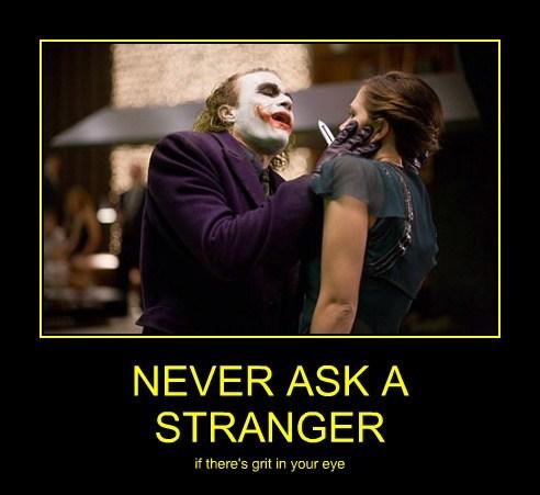 joker stranger batman funny - 7608242944