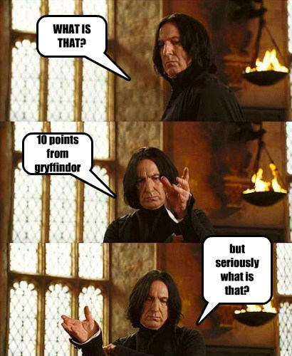 wtf Harry Potter snape - 7608476672