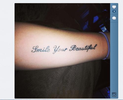 grammar text tattoos funny