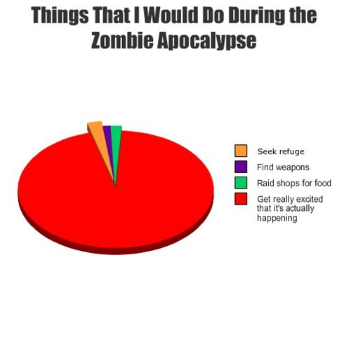Things That I Would Do During the Zombie Apocalypse