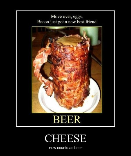 beer cheese awesome funny bacon - 7609501696