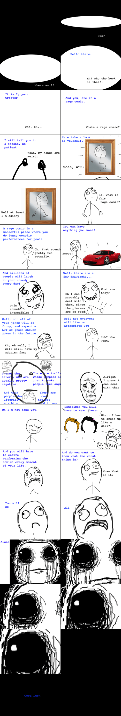 making rage comics,creation