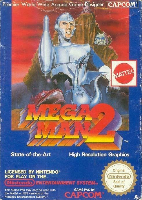 box art NES mega man 2 - 7609925888
