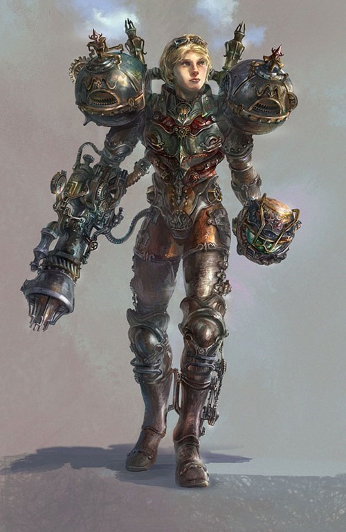 samus,Steampunk,art