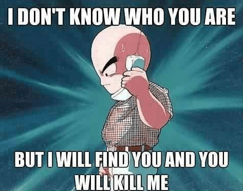 Dragon Ball Z cartoons krillin