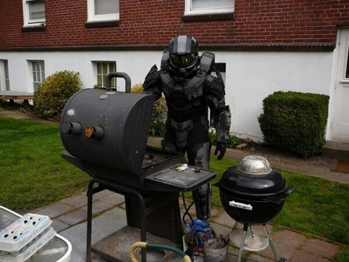 cosplay IRL master chief halo