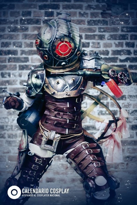 cosplay video games big sister bioshock - 7610582528