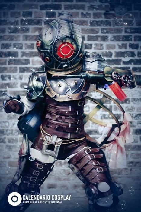 cosplay video games big sister bioshock - 7610582528