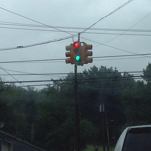 red light stoplight green light
