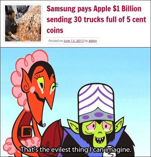 trolling,Samsung,apple