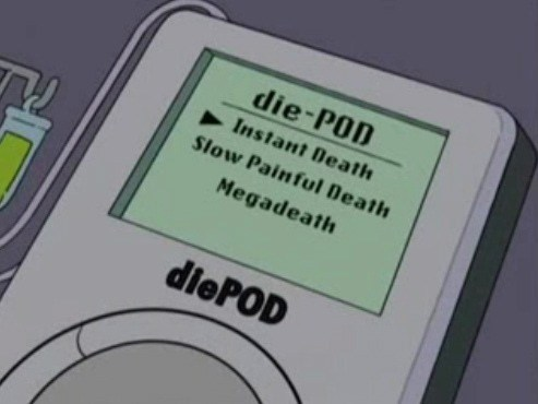 megadeth Music ipod simpsons funny g rated - 7610736128