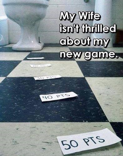 skeeball toilet peeing - 7610937856