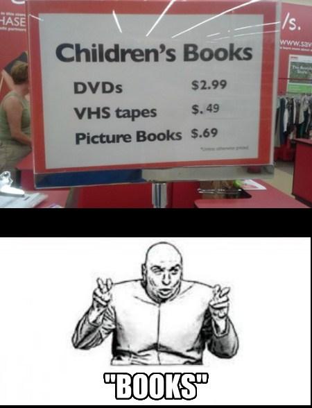 dr-evil sad but true books funny - 7611101184