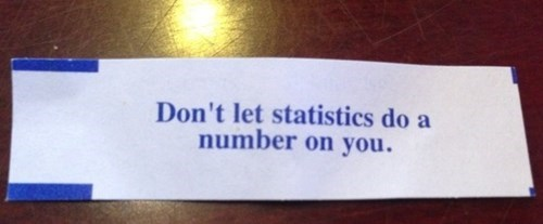 puns math funny fortune cookies Statistics - 7611213824