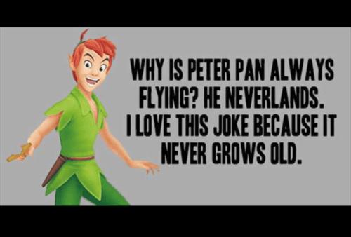 peter pan,puns,funny