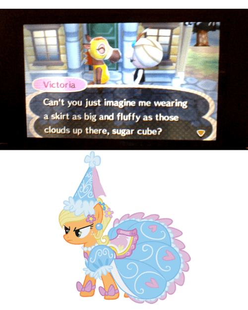 applejack sugar cube animal crossing video games - 7611450112