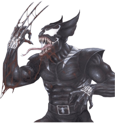 art,wolverine,funny,Venom
