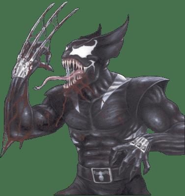 art wolverine funny Venom - 7611632640