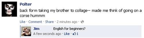 spelling,college,stupidity