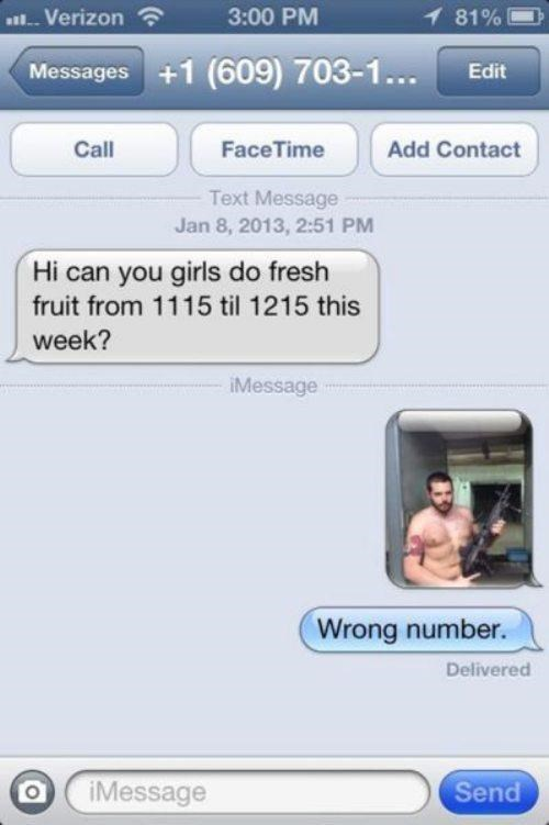 overkill,selfie,wrong numbers,funny