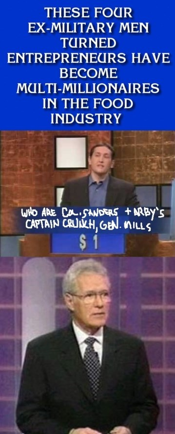 Jeopardy military food funny - 7613433856