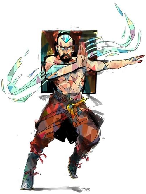 tenzin Fan Art Avatar the Last Airbender cartoons - 7613435648