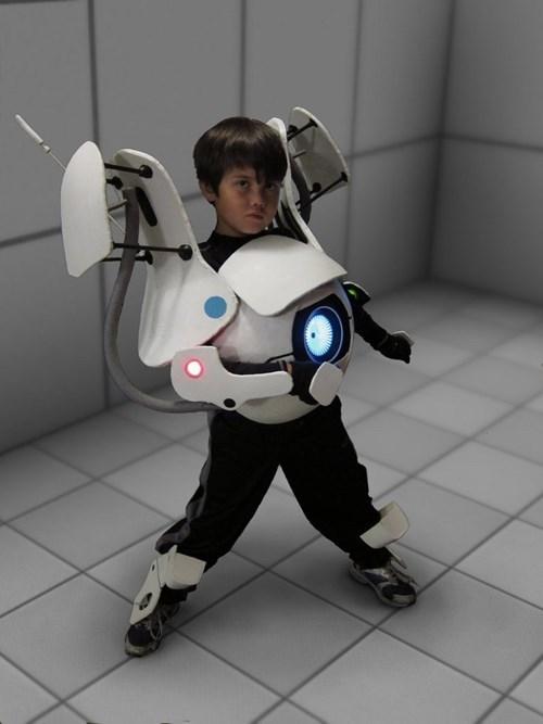 cosplay atlas kids cute video games portal 2 - 7613469440