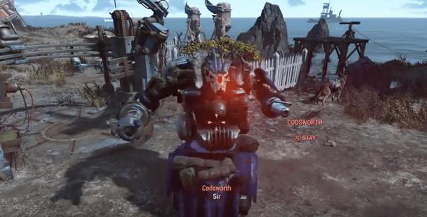 fallout fallout 4 robot army robots fallout dlc - 761349