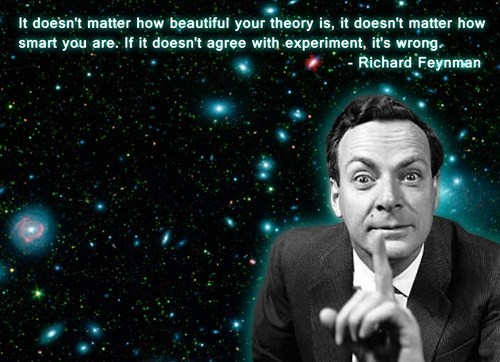 experiment science quote funny richard feynman - 7613517568