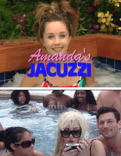 Amanda Bynes,jacuzzi