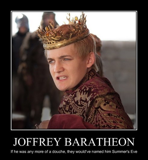 Game of Thrones joffrey baratheon summers eve - 7613618944