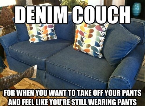 denim,couches,pants
