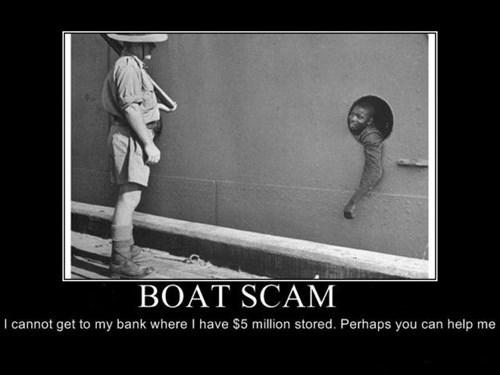 nigeria scam boat funny - 7613924608