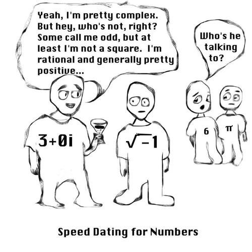 puns imaginary numbers math funny - 7614190336