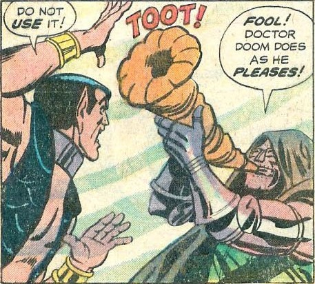off the page,namor,dr doom,funny