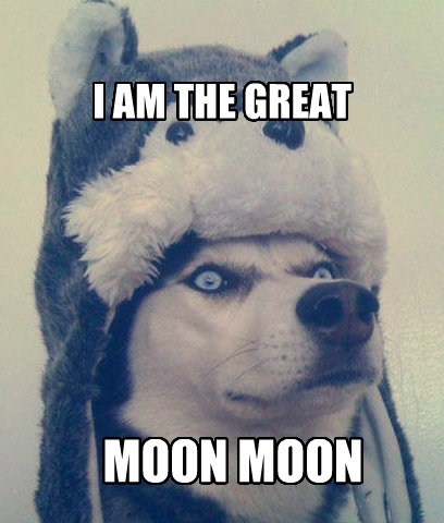 I AM THE GREAT MOON MOON