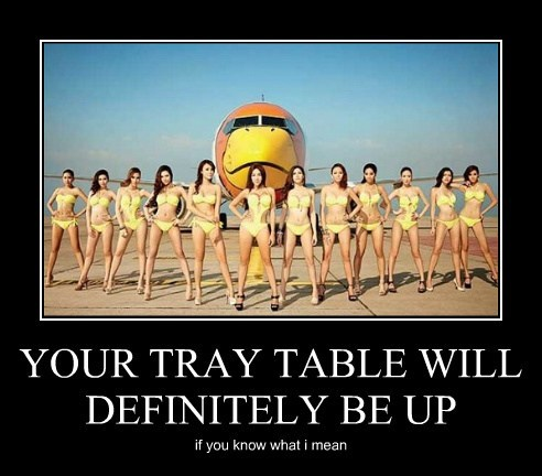 Sexy Ladies wtf funny airplane - 7615943168