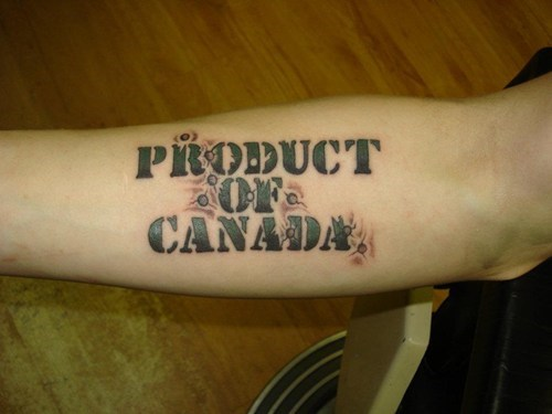 bad,Canada,wtf,tattoos,bullets,funny