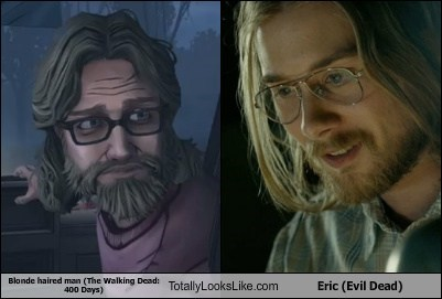 blonde,Eric,totally looks like,funny,The Walking Dead