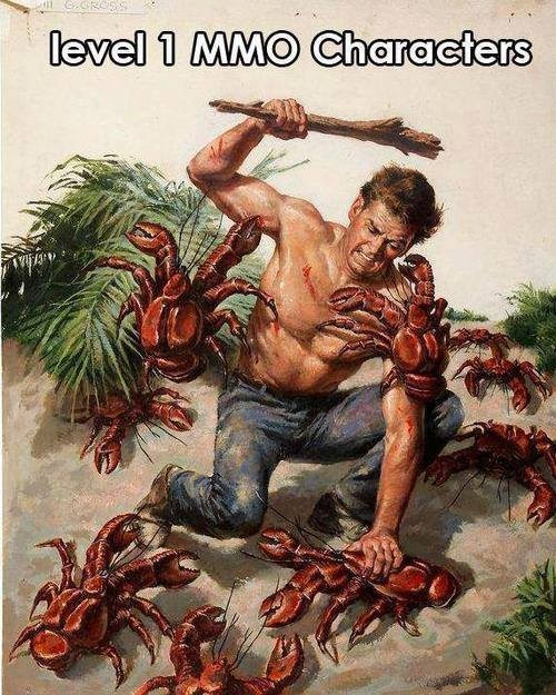 gaming,lobsters,MMOs