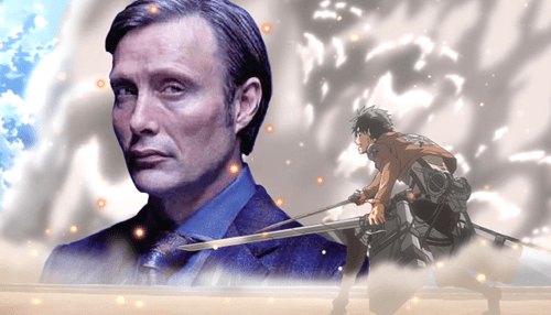 crossover Fan Art attack on titan hannibal - 7616612096