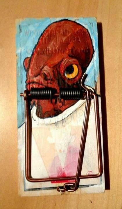 its a trap star wars mouse trap - 7616692992