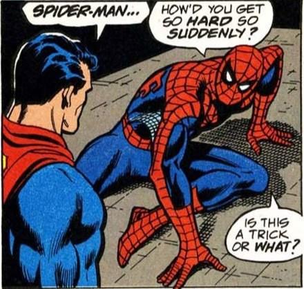 wtf Spider-Man funny superman - 7616706560