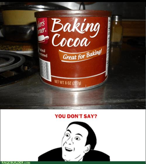 cocoa powder baking you dont say - 7618403584