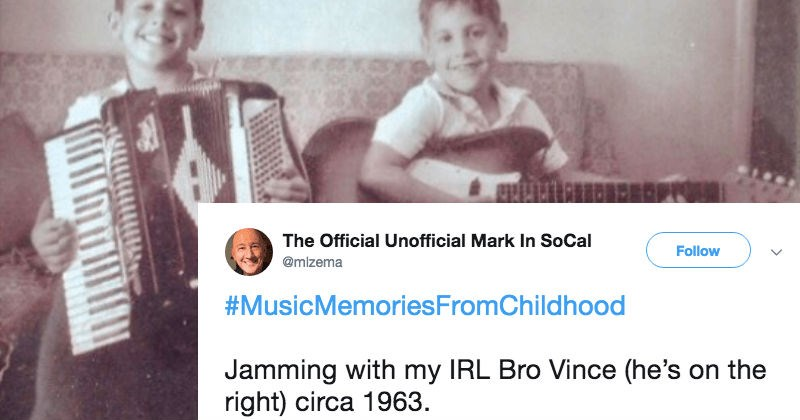 Music twitter childhood nostalgia - 7618565