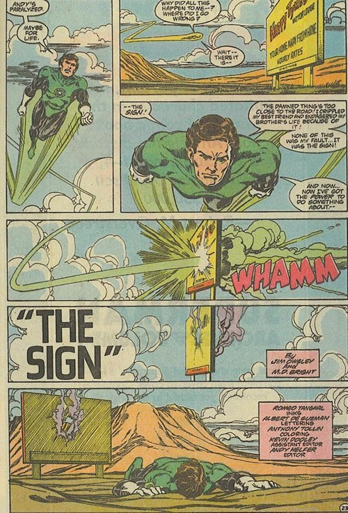 archenemy off the page Green lantern funny - 7619081728