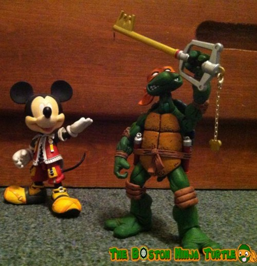 crossover TMNT video games - 7619807744
