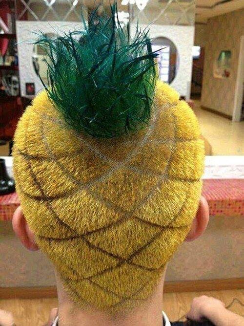 wtf pineapple funny fruit - 7619845120