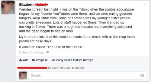 titanic Game of Thrones tokyo failbook - 7620157696